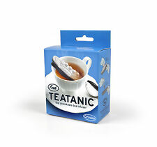 Tea Infuser TEATANIC For Loose Tea- Titanic shaped - by FRED, new in box