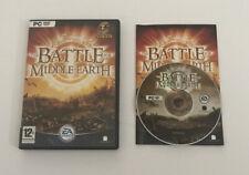 El Señor De Los Anillos: la batalla por la Tierra Media (PC: Windows 2004) Manual