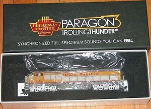 BROADWAY LIMITED 4414 GE C30-7 UNION PACIFIC UP 2408 DUAL MODE DC DDC SOUND PARA