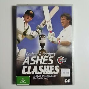 Botham and Borders Ashes Clashes   Brand New & Sealed DVD   Cricket   Sports