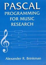 Pascal Programming for Music Research-ExLibrary