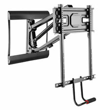 Full Motion Fireplace Drop-Down Wall Mount Bracket 43-70inch Tvs to 77 lbs