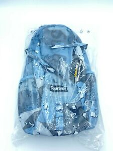 Supreme SS20 Blue Chocolate Chip Camo Backpack BNWT Deadstock Sold Out!!