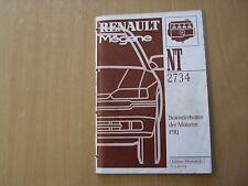 Renault Megane Motor F9Q Werkstatthandbuch Reparaturanleitung