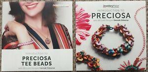 INTRO 2 PRECIOSA & PRECIOSA TEE BEADS craft tuition DVD LOT SEAD JEWELLERY