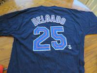 Toronto Blue Jays Carlos Delgado #25 T-Shirt Size XL  - Great Condition