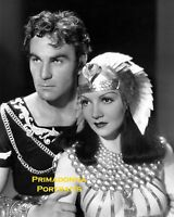 CLAUDETTE COLBERT & HENRY WILCOXON 8X10 Lab Photo B&W 1934 :CLEOPATRA""