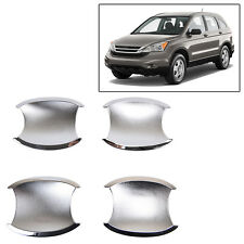 FIT FOR HONDA CRV CR-V 07-11 CHROME DOOR HANDLE BOWL CUP CAVITY TRIM
