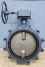 "Milwaukee Butterfly Valve 12"" w/ Gear and Hand Wheel CL323ED NOS"