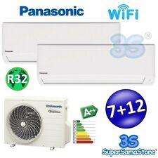 3S CLIMATIZZATORE PANASONIC WIFI DUAL SPLIT 7000 + 12000 TZ R32 A++ A+ INVERTER