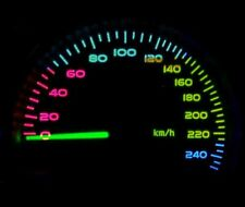 Disco LED Panneau Speedo Kit Éclairage Set pour Vauxhall Astra Mk4 Sri Cdx Sxi