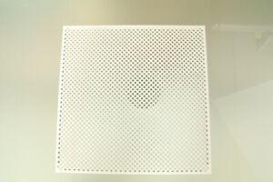 USM Haller 350 x 350 Tablar Blech perforiert gelocht Hifi Vitrine Lowboard weiß