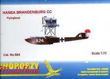 Choroszy Models 1/72 HANSA BRANDENBURG CC German Seaplane