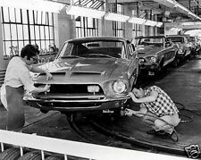 1968 Ford Mustang SHELBY GT, Factory Assembly Line, Refrigerator Magnet, 40 MIL