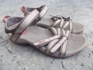 TEVA 4266 Tirra Sport Sandals Slides US 9.5 pink