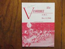 ROY   SKINNER (Died in 2010) Signed  1968  Vanderbilt  Men's  Basketball Program
