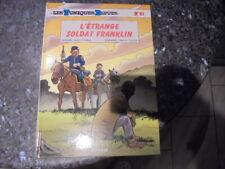 belle eo des tuniques bleues l'etrange soldat franklin