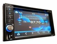 SoundXtreme Car Stereo CD DVD 2Din Bluetooth Receiver with DVD/CD/MP3/FM/USB/SD