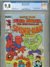 1983 MARVEL TAILS #1 1ST APPEARANCE PETER PORKER CGC 9.8 WHITE BOX11