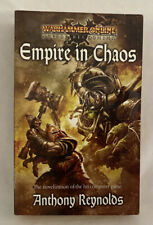 Empire in Chaos - Anthony Reynolds (2008) - VTG Warhammer AOR Fantasy Novel Book