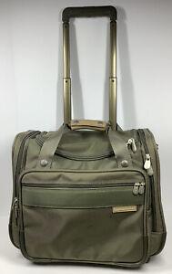 BRIGGS & RILEY Wheeled Rolling Cabin Bag Carry On Luggage U212