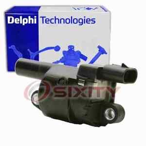 Delphi Ignition Coil for 2007-2018 Cadillac Escalade ESV 6.2L V8 Wire Boot nf