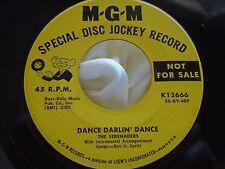 Rare Doo Wop 45 : The Serenaders ~ Give Me A Girl ~ Dance Darlin Dance ~ MGM