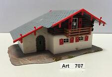 Faller B-287 H0 Berghaus,Alpenhaus,gut geklebt,Maßstab 1:87, selten & RAR