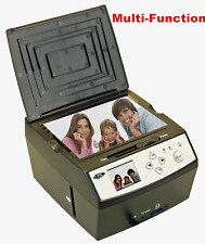 Multi-Function Combo Scanner Films Photos Negatives 128M Internal Memory
