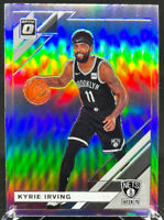 Kyrie Irving 2019-2020 Panini Donruss Optic Silver Holo #102 Brooklyn Nets