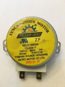 Microwave turntable motor 5 RPM TYJ50-8A2  3W