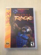 Universal Sega 32X Replacement Case - Primal Rage (NO GAME!)