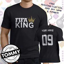 FIFA King t-shirt football, Fifa Champ, ps4, xbox, pc gaming shirt **Free Name**