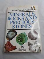 Minerals Rocks and Precious Stones Dr Jaroslav Baur  1975 FIELD GUIDE in COLOR