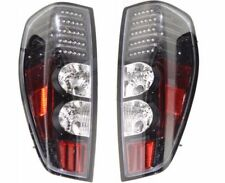 CHEVY GMC COLORADO CANYON PICKUP 2004-2012 BLACK LED TAILLIGHTS TAIL LIGHTS PAIR