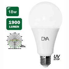 "LAMPADINE- SET 2 LAMPADINE GOCCIA LED ""DYA"" ATTACCO E27 18W 1900L 6000K/C a.068"
