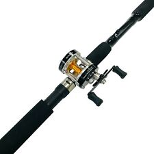 EatMyTackle 7 ft. Sabiki Bait Fishing Rod & Baitcaster Reel Combo