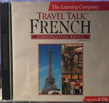 The Learning Company Travel Talk French Conversation Basics 2-Cd Set