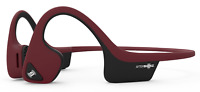 AfterShokz Trekz Air Open Ear Bone Conduction Bluetooth Wireless Headphones Red