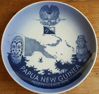 Royal Copenhagen Papua New Guinea Independence Plate 1975