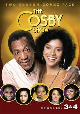 THE COSBY SHOW SEASONS 3 + 4 New Sealed 4 DVD Set