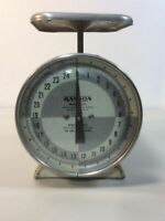 Vintage Hanson Scale 25 Lb Table Top Utility Model 1371 Working Condition B5