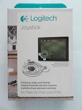 Joystick Logitech - Joystick per ipad, colore trasparente, nuovo