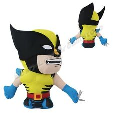 Cute ! Spiderman Spider Man Wolverine 18cm Suction Plush Doll Toy