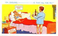 Comic Tarjeta Postal - Oh Darling Es que Todo para Me?