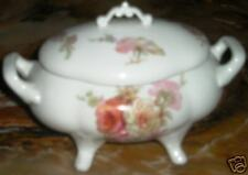 Limoges Covered Mini Tureen w/Lid Floral-Old! Mint!!