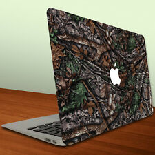 Macbook Air or Macbook Pro 13 inch Vinyl Removable Skin - Hunting Camouflage