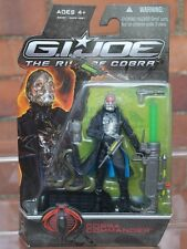 Fuerza de acción/Gi Joe Rise Of Cobra Sellada Figura Cobra Commander