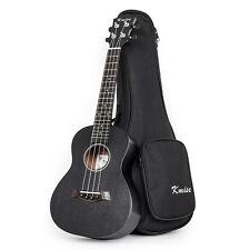 Kmise Professional Concert Ukulele Uke Acoustic Hawaii Guitar Sapele 23 Inch