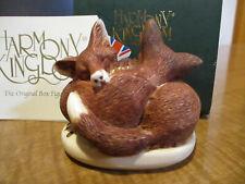 Harmony Kingdom Sweet Surrender Foxes Romance Annual UK Made Box Figurine